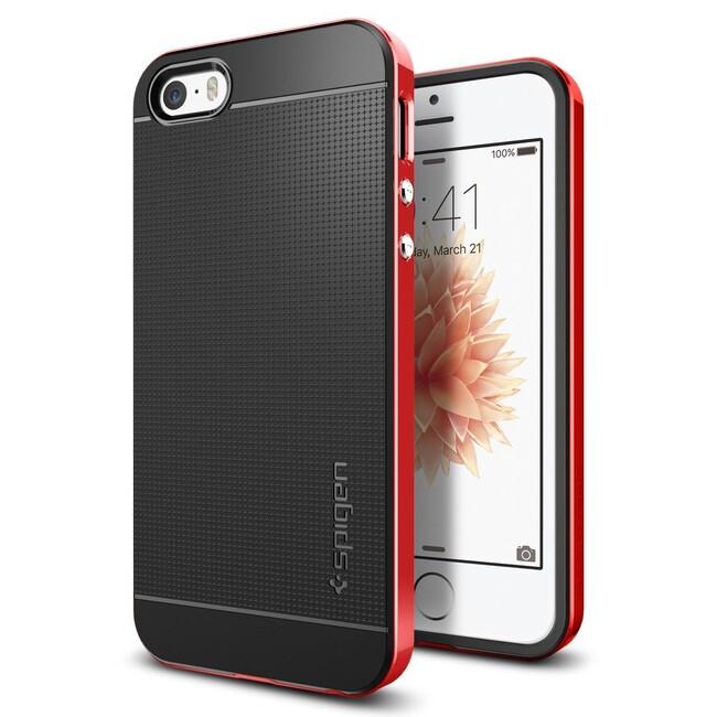 Чехол Spigen Neo Hybrid Dante Red для iPhone SE/5S/5