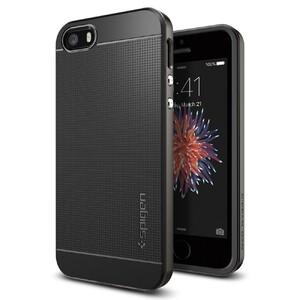 Купить Чехол Spigen Neo Hybrid Gunmetal для iPhone SE/5S/5