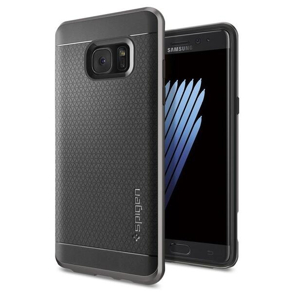 Чехол Spigen Neo Hybrid Gunmetal для Samsung Galaxy Note 7