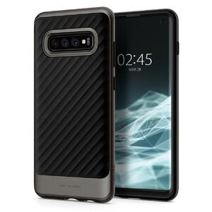 Купить Противоударный чехол Spigen Neo Hybrid Gunmetal для Samsung Galaxy S10