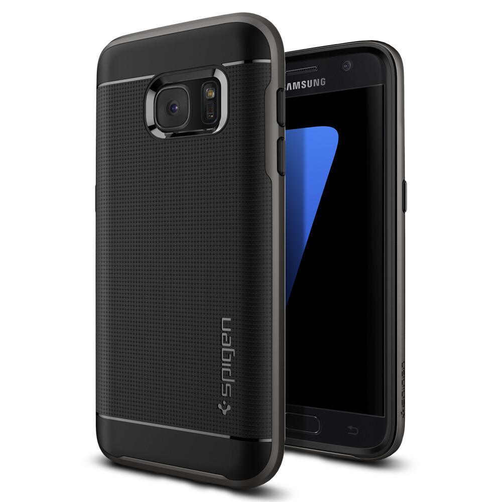 Чехол Spigen Neo Hybrid Gunmetal для Samsung Galaxy S7