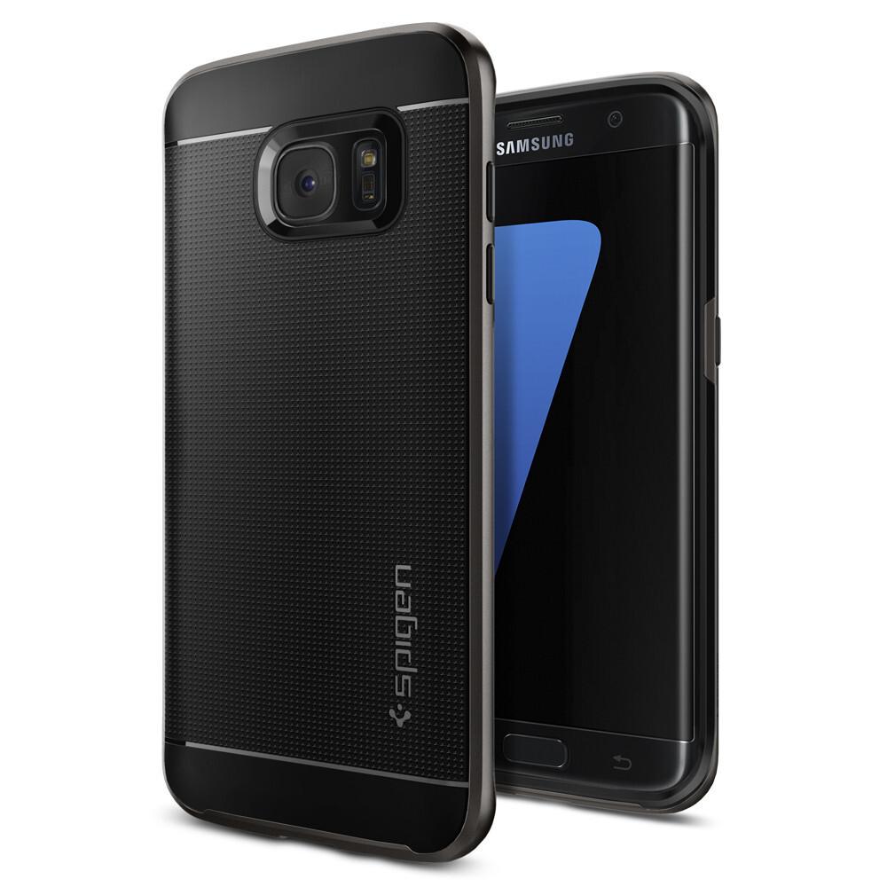 Чехол Spigen Neo Hybrid Gunmetal для Samsung Galaxy S7 edge