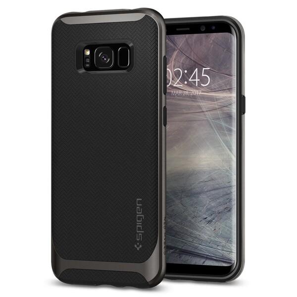 Чехол Spigen Neo Hybrid Gunmetal для Samsung Galaxy S8