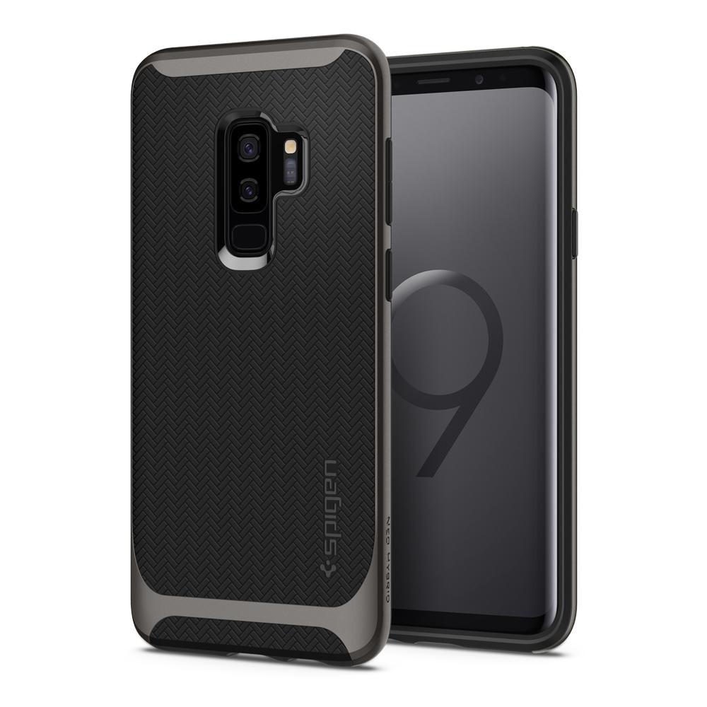 Чехол Spigen Neo Hybrid Gunmetal для Samsung Galaxy S9 Plus