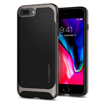 Чехол Spigen Neo Hybrid Herringbone Gunmetal для iPhone 8 Plus/7 Plus