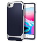 Чехол Spigen Neo Hybrid Herringbone Satin Silver для iPhone 8/7