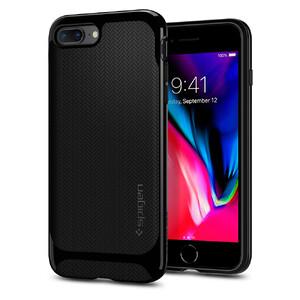 Купить Чехол Spigen Neo Hybrid Herringbone Shiny Black для iPhone 8 Plus/7 Plus