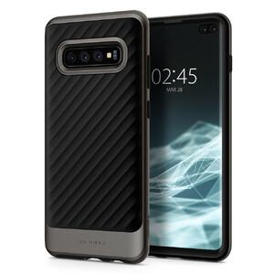 Купить Противоударный чехол Spigen Neo Hybrid Gunmetal для Samsung Galaxy S10 Plus