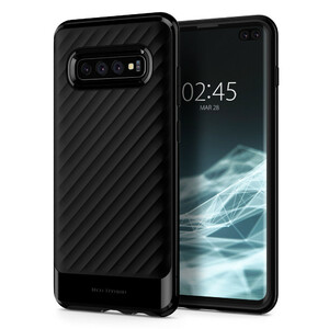 Купить Противоударный чехол Spigen Neo Hybrid Midnight Black для Samsung Galaxy S10 Plus