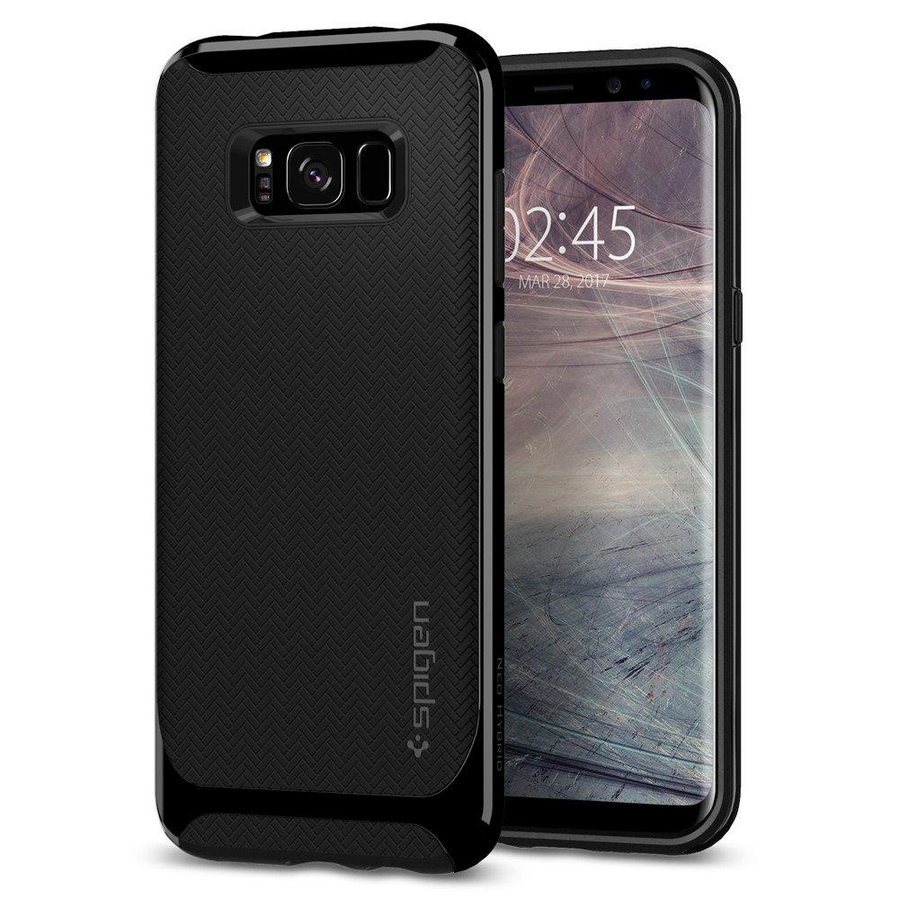 Купить Чехол Spigen Neo Hybrid Shiny Black для Samsung Galaxy S8 Plus
