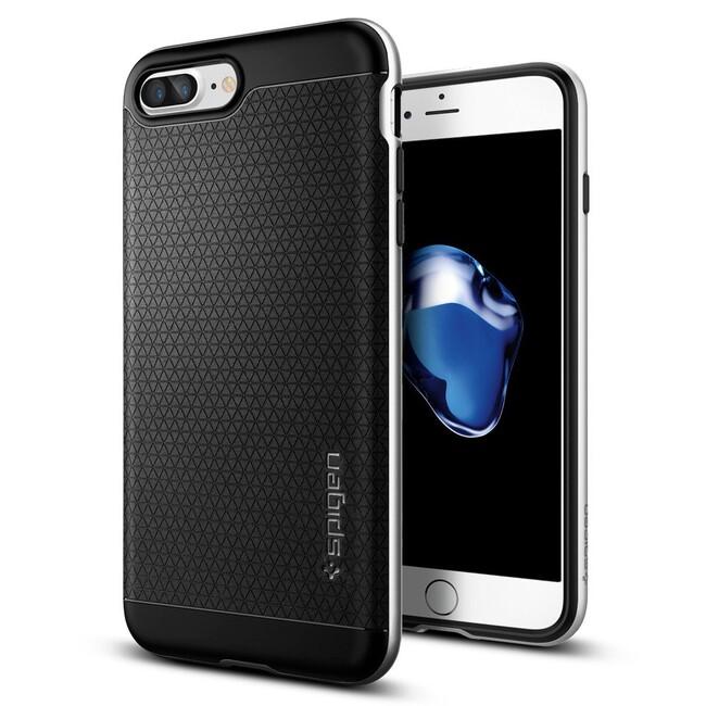 Чехол Spigen Neo Hybrid Satin Silver для iPhone 7 Plus