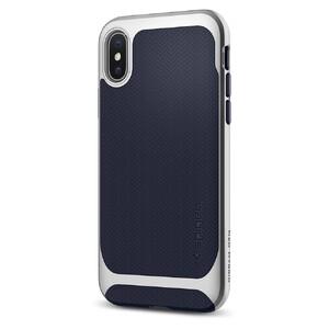 Купить Чехол Spigen Neo Hybrid Satin Silver для iPhone X/XS
