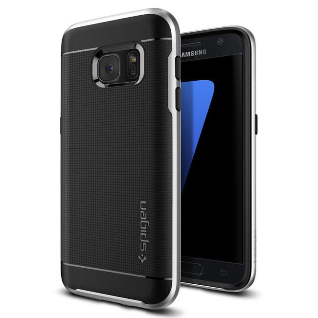 Чехол Spigen Neo Hybrid Satin Silver для Samsung Galaxy S7