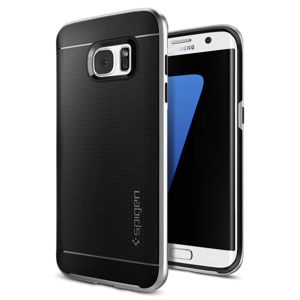 Чехол Spigen Neo Hybrid Satin Silver для Samsung Galaxy S7 edge