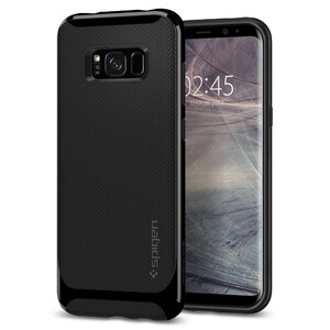 Купить Чехол Spigen Neo Hybrid Shiny Black для Samsung Galaxy S8