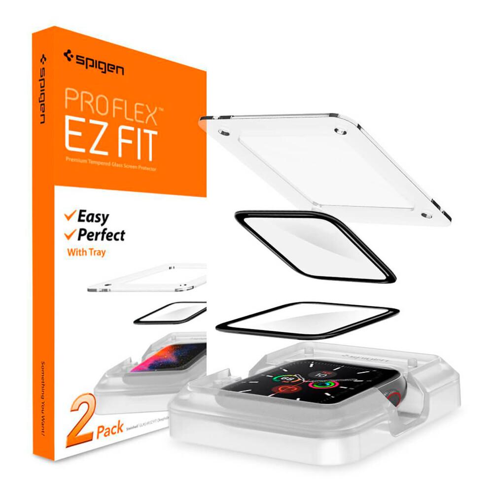 Купить Защитная пленка Spigen ProFlex EZ Fit для Apple Watch 44mm SE | 6 | 5 | 4 (2 Pack)