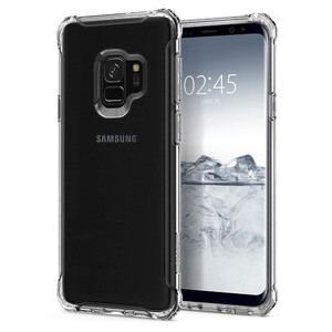 Купить Чехол Spigen Rugged Armor Crystal Clear для Samsung Galaxy S9
