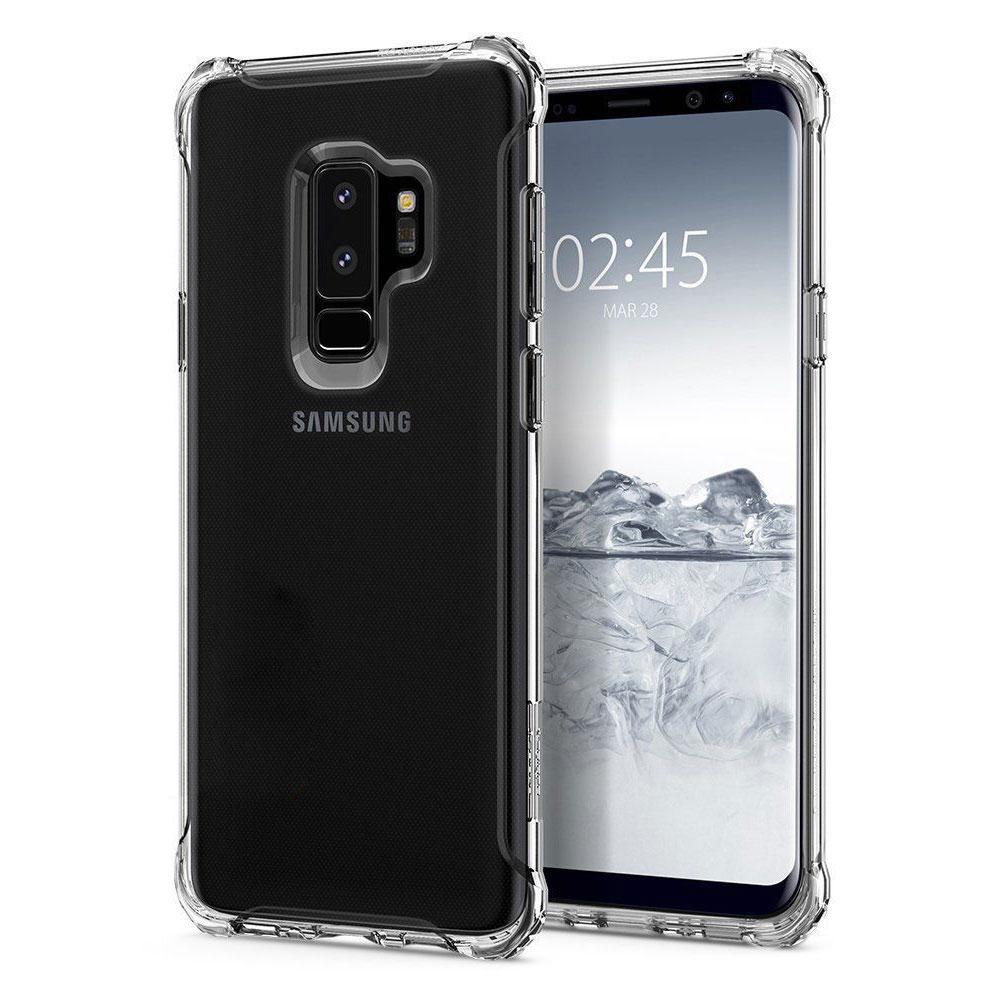 Купить Чехол Spigen Rugged Armor Crystal Clear для Samsung Galaxy S9 Plus