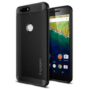Купить Чехол Spigen Rugged Armor Black для Huawei Nexus 6P