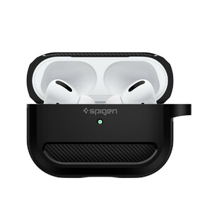 Купить Чехол Spigen Rugged Armor Matte Black для AirPods Pro