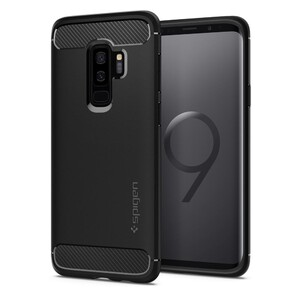 Купить Чехол Spigen Rugged Armor Matte Black для Samsung Galaxy S9 Plus