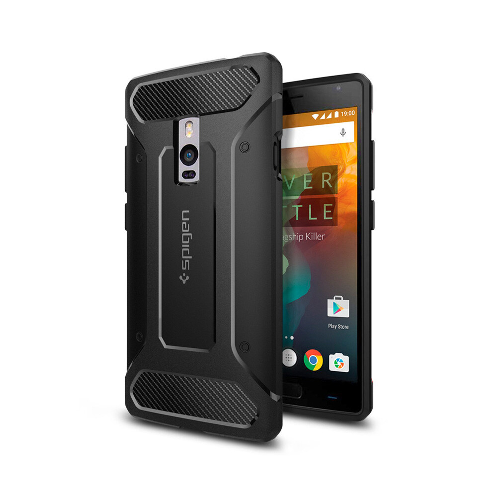 Чехол Spigen Rugged Armor для OnePlus 2