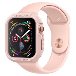 Купить Противоударный чехол Spigen Rugged Armor Rose Gold для Apple Watch 40mm Series 4