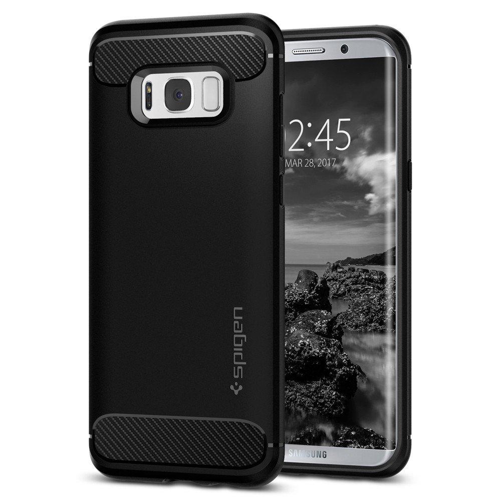 Купить Чехол Spigen Rugged Armor для Samsung Galaxy S8 Plus