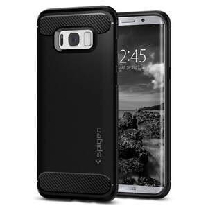 Купить Чехол Spigen Rugged Armor для Samsung Galaxy S8 Plus