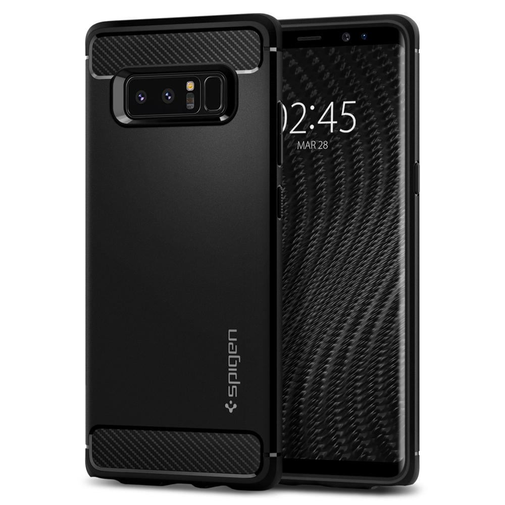 Купить Чехол Spigen Rugged Armor для Samsung Galaxy Note 8