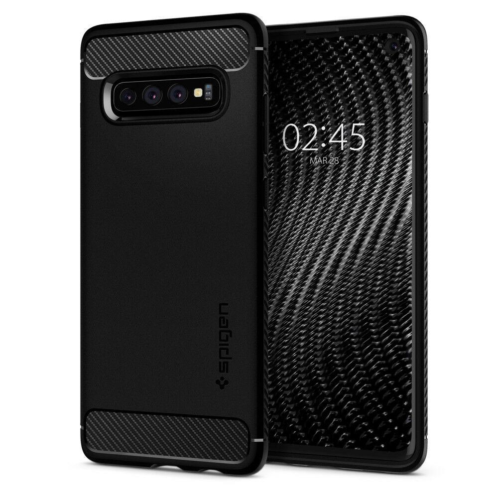 Купить Чехол Spigen Rugged Armor для Samsung Galaxy S10
