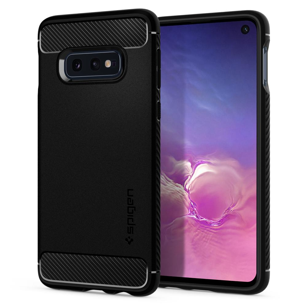 Купить Чехол Spigen Rugged Armor Black для Samsung Galaxy S10e