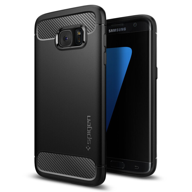 Чехол Spigen Rugged Armor для Samsung Galaxy S7 edge
