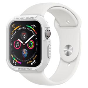Купить Противоударный чехол Spigen Rugged Armor White для Apple Watch 40mm Series 4