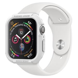 Купить Противоударный чехол Spigen Rugged Armor White для Apple Watch 44mm Series 4