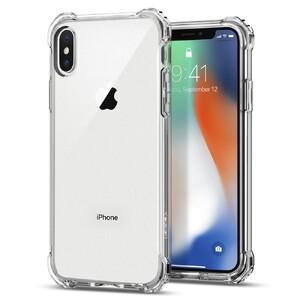 Купить Чехол Spigen Rugged Crystal для iPhone X/XS
