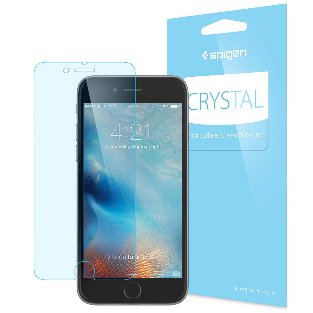 Защитная плёнка Spigen Crystal для iPhone 6 Plus/6s Plus