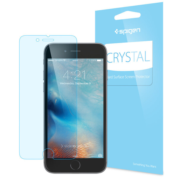 Защитная плёнка Spigen Crystal для iPhone 6 Plus   6s Plus