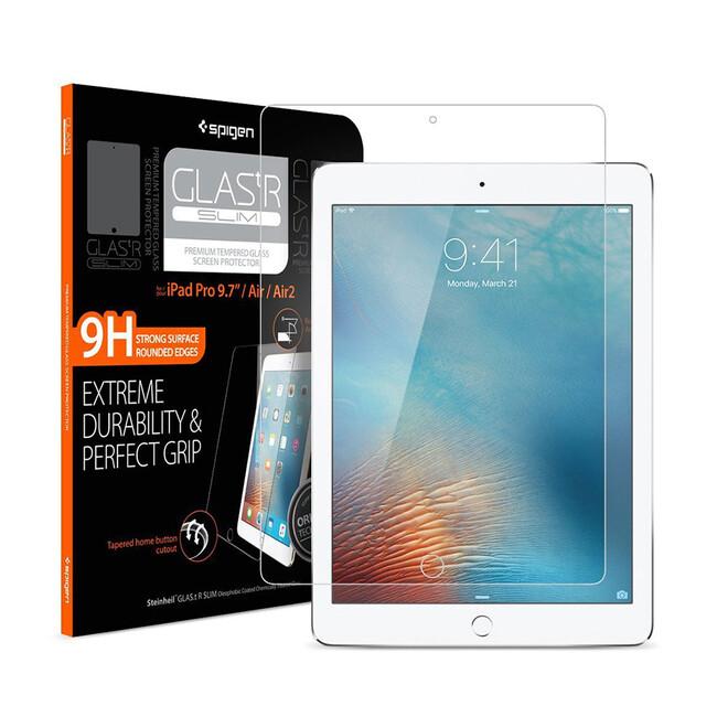 """Защитное стекло Spigen GLAS.tR SLIM для iPad Pro 9.7"""""""