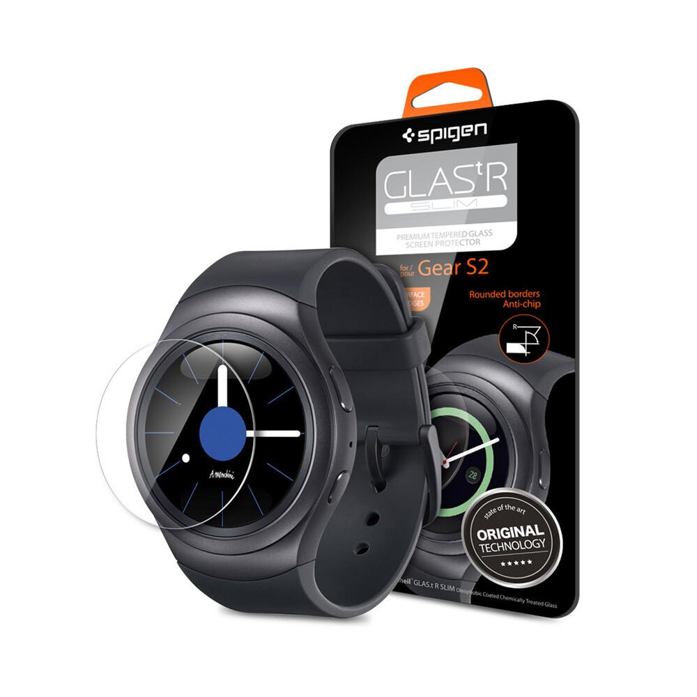 Защитное стекло Spigen GLAS.tR SLIM для Samsung Gear S2