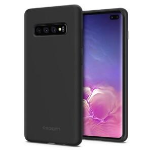 Купить Чехол Spigen Silicone Fit Black для Samsung Galaxy S10+