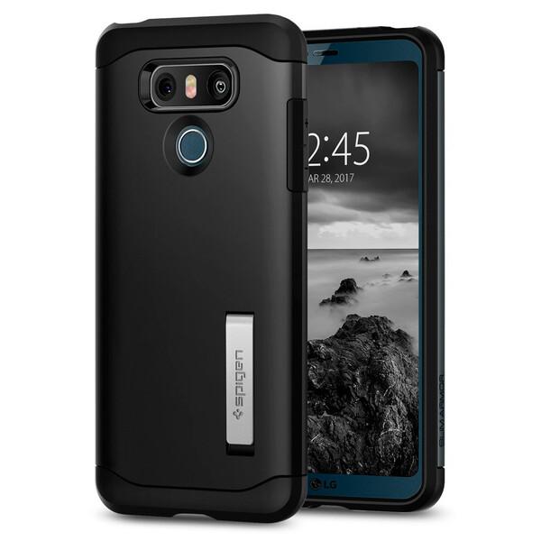 Чехол Spigen Slim Armor Black для LG G6