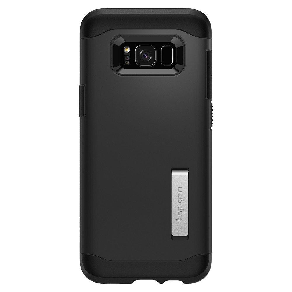 Купить Чехол Spigen Slim Armor Black для Samsung Galaxy S8 Plus