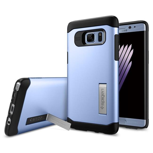 Чехол Spigen Slim Armor Blue Coral для Samsung Galaxy Note 7