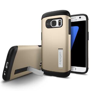 Купить Чехол Spigen Slim Armor Champagne Gold для Samsung Galaxy S7