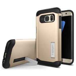 Купить Чехол Spigen Slim Armor Champagne Gold для Samsung Galaxy S7 edge