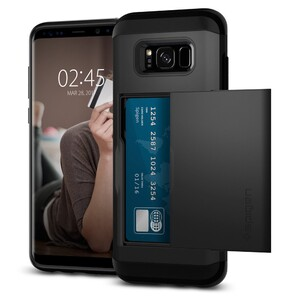 Купить Чехол Spigen Slim Armor CS Black для Samsung Galaxy S8 Plus