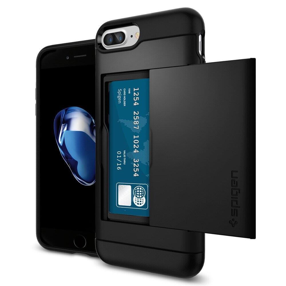 Чехол Spigen Slim Armor CS Black для iPhone 7 Plus/8 Plus