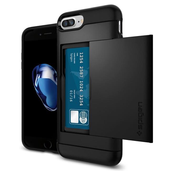 Чехол Spigen Slim Armor CS Black для iPhone 7 Plus