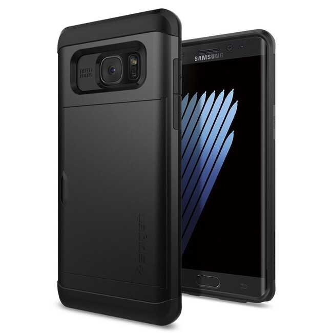 Чехол Spigen Slim Armor CS Black для Samsung Galaxy Note 7